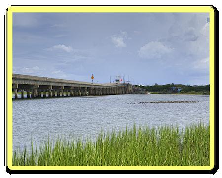Bridge over Intracoastal Waterway